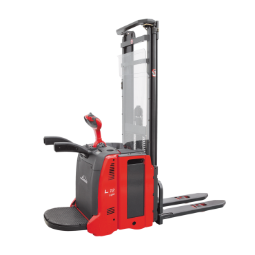 linde 1 2 1 4 ton double stacker stapelaar 133 - AP - SP