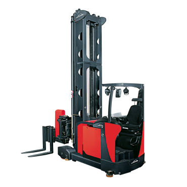 Linde smalle gangen truck A - man down - 5022